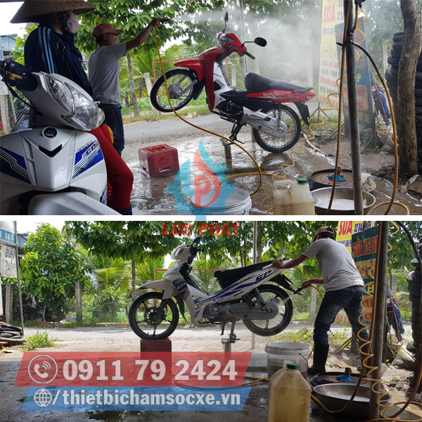 Ben Rửa Xe Máy Hàng Nội Địa Việt Nam Với Mức Giá Hấp Dẫn