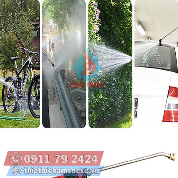 Vòi Xịt Rửa Xe Chuyên Dùng Rửa Xe Với Áp Lực Mạnh