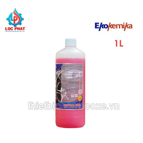 dung dịch bóng sơn ekokemika crystal wax 1l